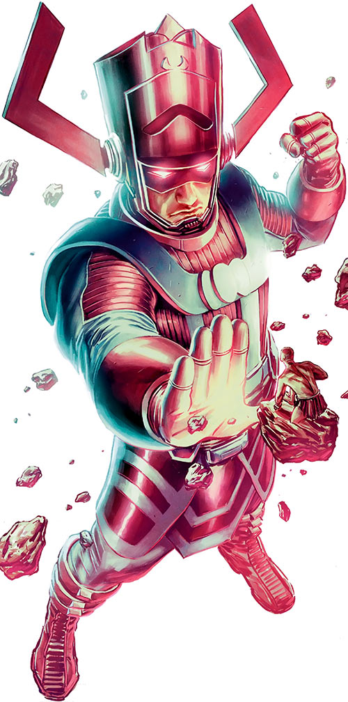 Galactus (Marvel Comics) creates the Silver Surfer