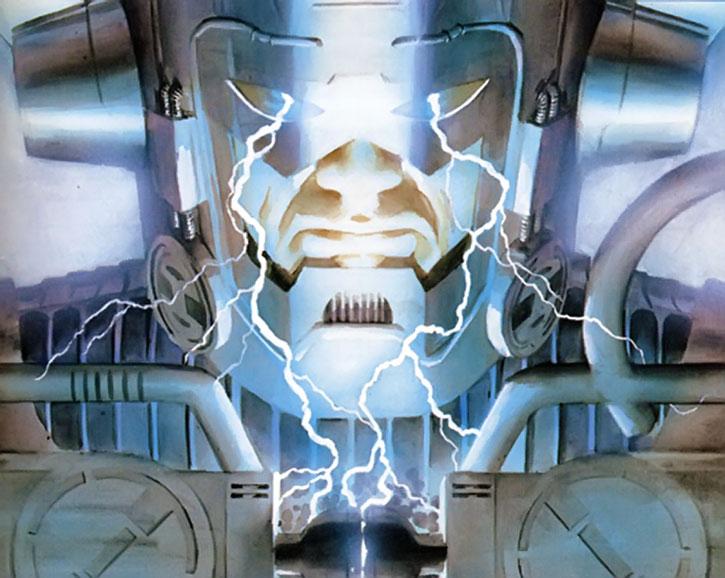Galactus preparing his machines