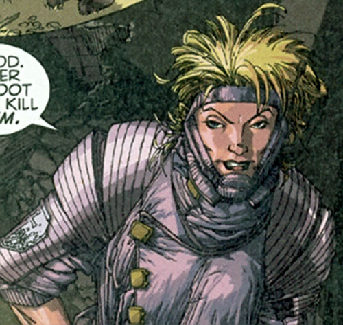 Galena Golovin of Stormwatch Team Achilles (Wildstorm Comics)