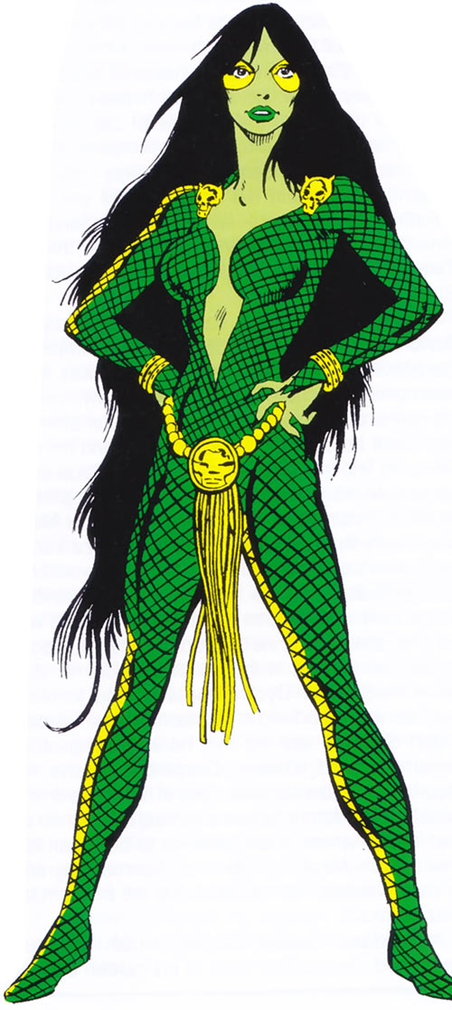 Gamora (early) from the older OHOTMU