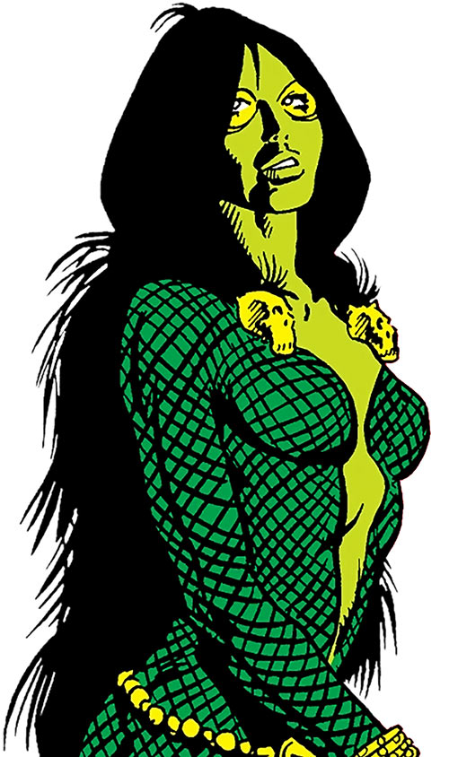 Gamora (early) (Marvel Comics)