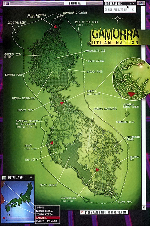 Gamorra Island (Wildstorm / Image comics)