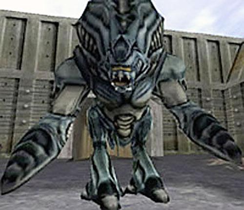 Garg aka Gargantua (Half-Life monster)