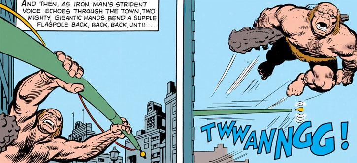 Gargantus (Iron Man enemy) (Marvel Comics) urban acrobatics