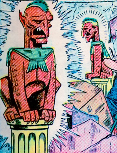 Gargoyles of the 13th floor (Venus enemies) (Atlas Comics)