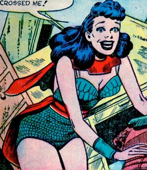 Sylvia Corbo (Venus enemy) (Atlas Comics)
