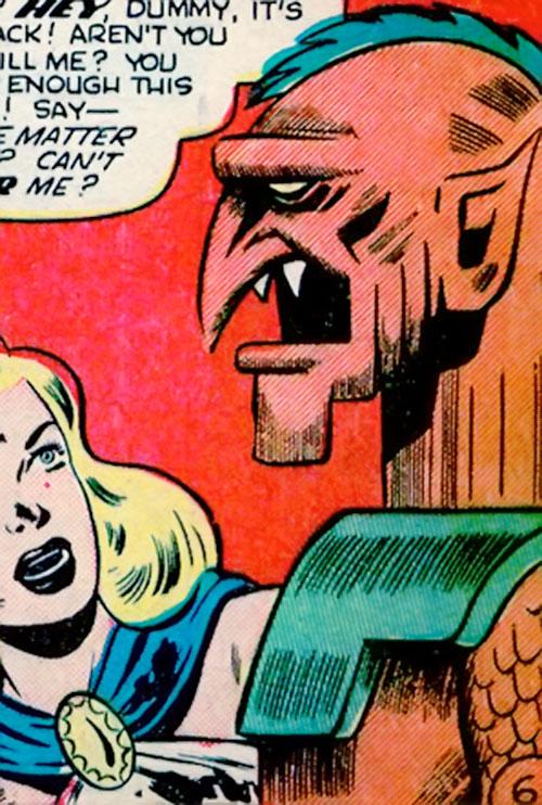 Chief of the gargoyles of the 13th floor (Venus enemies) (Atlas Comics)