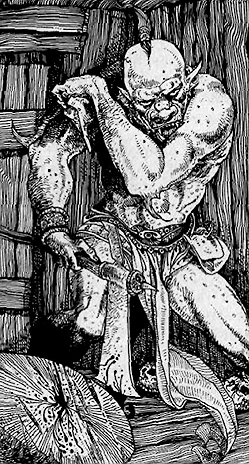Gark in Citadel of Chaos (Fighting Fantasy books)