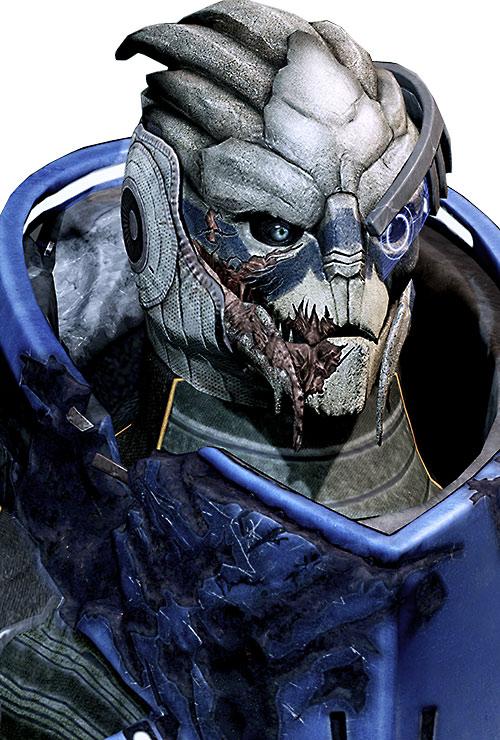 Garrus Vakarian (Mass Effect 2) high resolution portrait