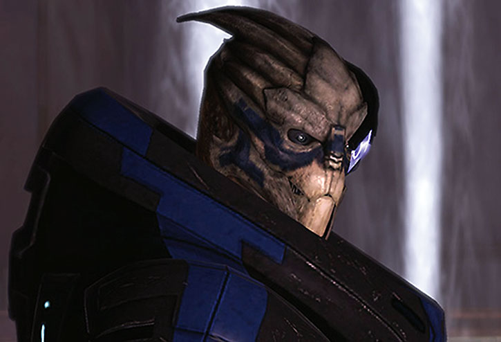 Garrus' first appearance