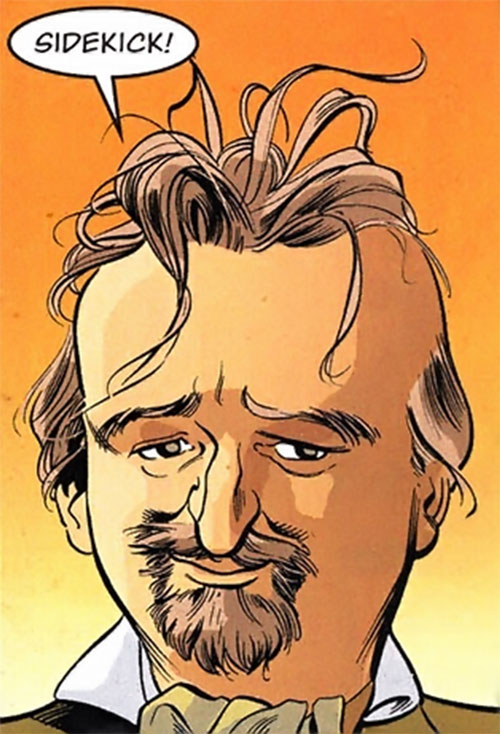 Gary the Pathetic Fallacy (Jack of Fables ally) (DC Comics) with a goatee