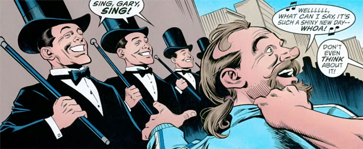 Gary the Pathetic Fallacy (Jack of Fables ally) (DC Comics) singing