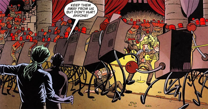 Gary the Pathetic Fallacy (Jack of Fables ally) (DC Comics) animating slot machines