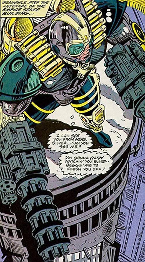 Gattling (Silver Sable enemy) (Marvel Comics)