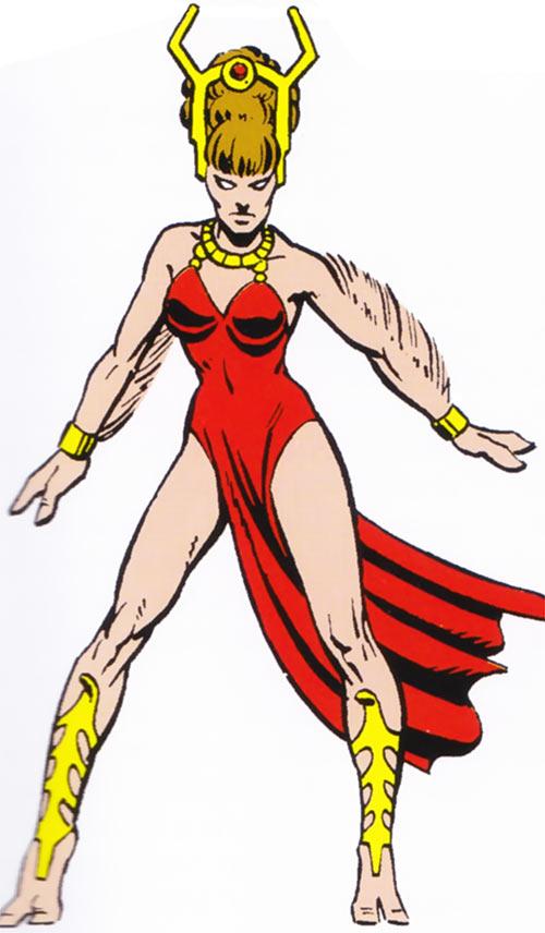 Gazelle (Salem's 7) (Marvel Comics) classic appearance