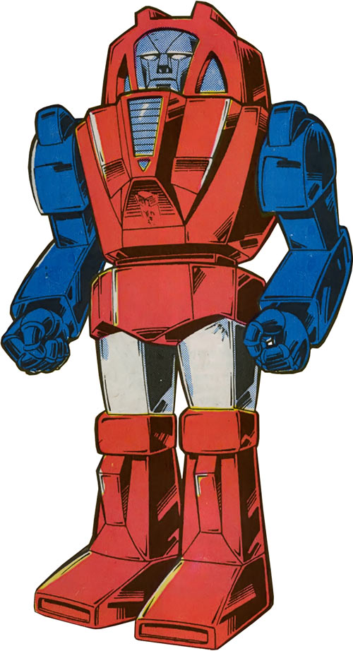 Gears of the Transformers in Marvel Comics of the 1980s
