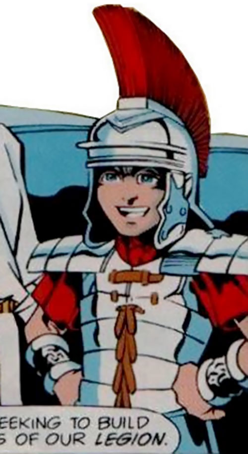 General Armstrong (Robin enemy) (DC Comics) as a Roman officer
