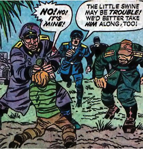 Axis veterans (DC Comics Sandman)