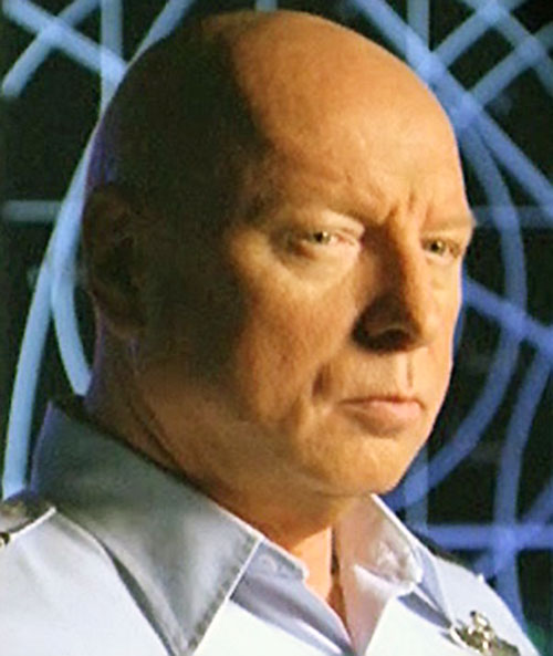 General Hammond (Don Davis in Stargate) face closeup