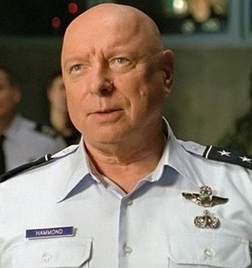 General Hammond (Don Davis in Stargate) portrait