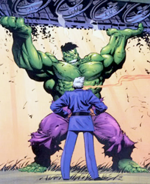 "General ""Thunderbolt"" Ross vs. the Hulk (Marvel Comics)"