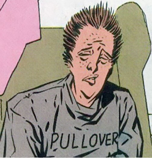 Buckshot (Generic Man ally, Heckler enemy) (DC Comics)