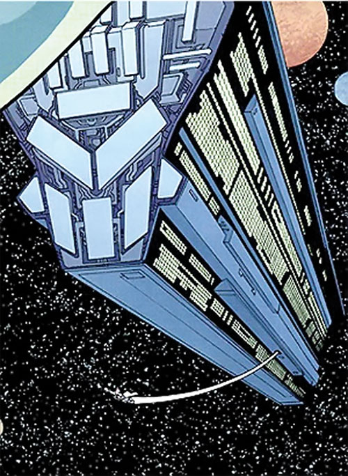 Viltrumite spaceship (Invincible Comics)