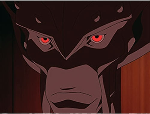 Dubbilex (Young Justice animated series) face closeup