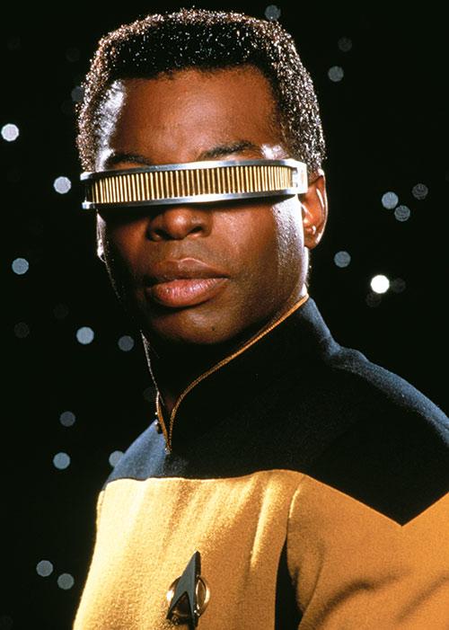 Geordi LaForge (Levar Burton in Star Trek) portrait