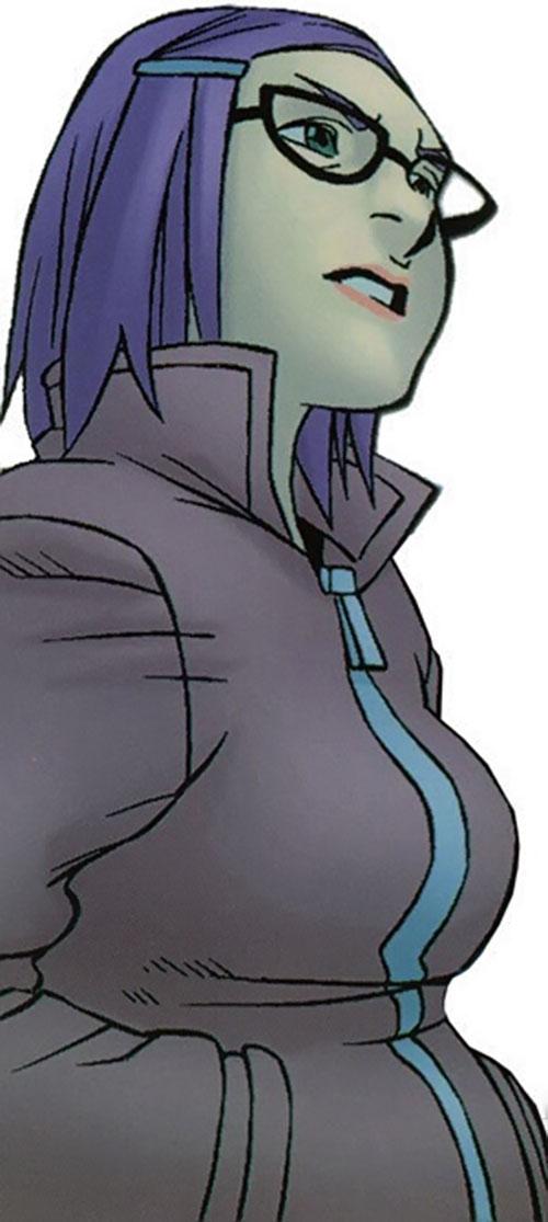 Arsenic (Gertrude Yorkes) of the Runaways (Marvel Comics)