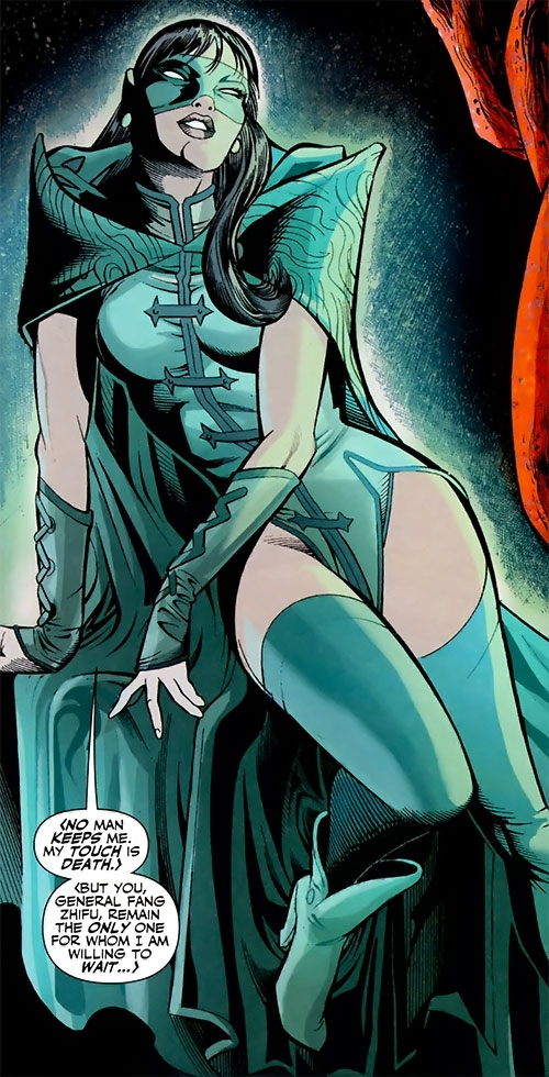 Ghost Fox Killer of the Great Ten (DC Comics) looking alluring