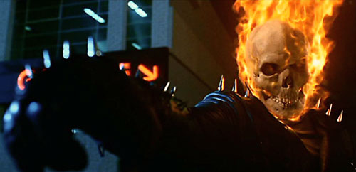 Ghost Rider (Nicholas Cage 2007 movie) pointing