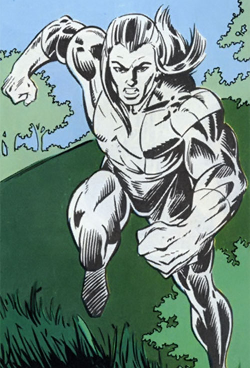 Ghost (Strikeforce Morituri) in action