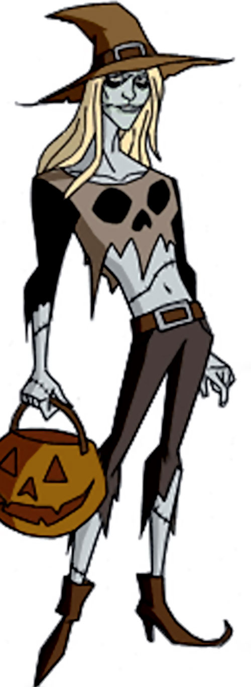 Ghoul of the Jokerz (Batman Beyond enemy) (DC animated)