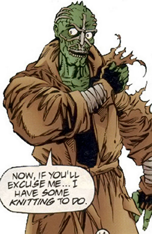 Ghoul (Ultraverse comics) reattaching his arm
