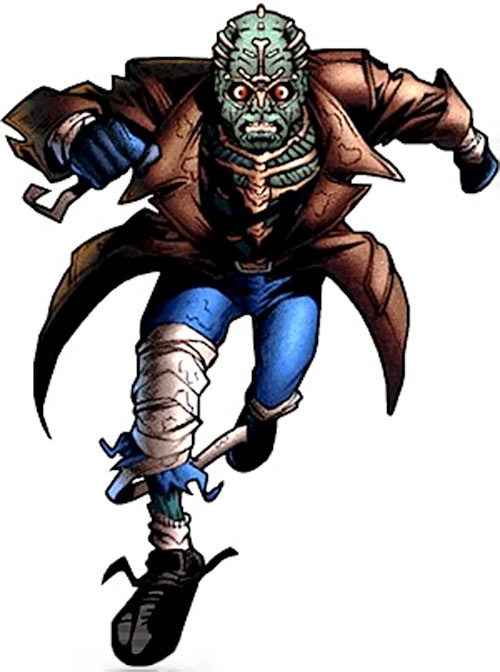 Ghoul (Ultraverse comics) running