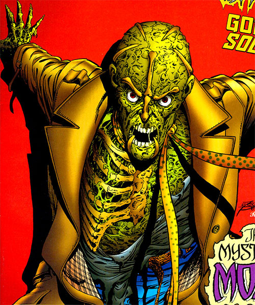 Ghoul (Ultraverse comics) with his chest exposed