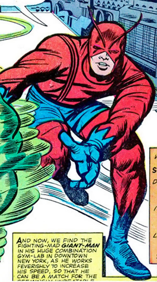 Giant-Man of the Avengers (Marvel Comics) vs. Whirlwind