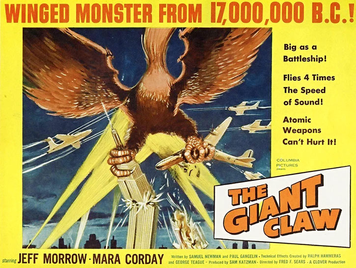 Giant Claw movie poster