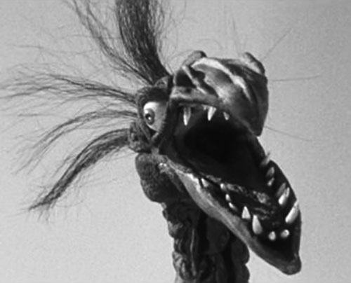 Giant Claw (1957 movie) head closeup