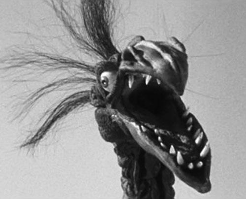 Giant Claw (1957 movie) head closeup