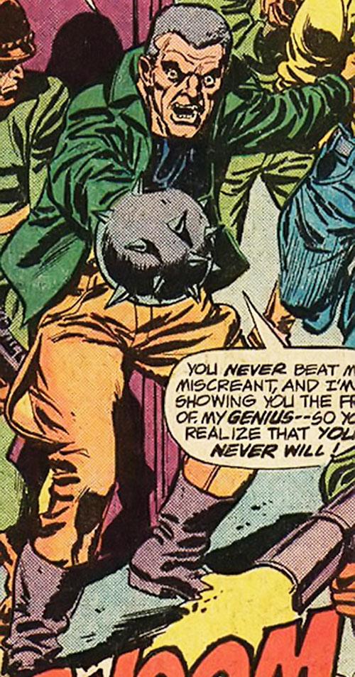 Gideon Mace (Luke Cage enemy) (Marvel Comics) boasting
