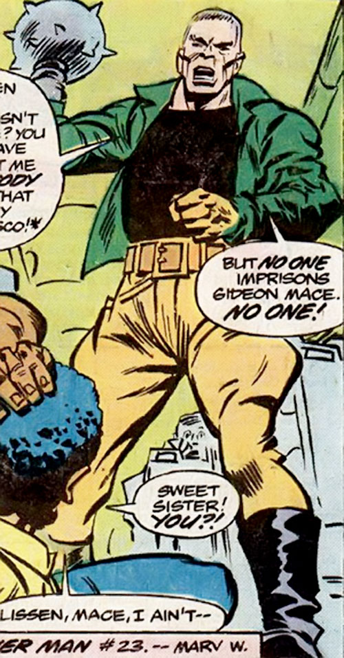 Gideon Mace (Luke Cage enemy) (Marvel Comics) ranting