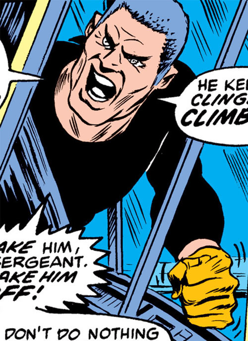 Gideon Mace (Luke Cage enemy) (Marvel Comics) yelling orders