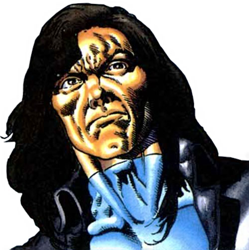 Gilad Anni Padda the Eternal Warrior (Original 1990s Valiant comics) frowny face closeup