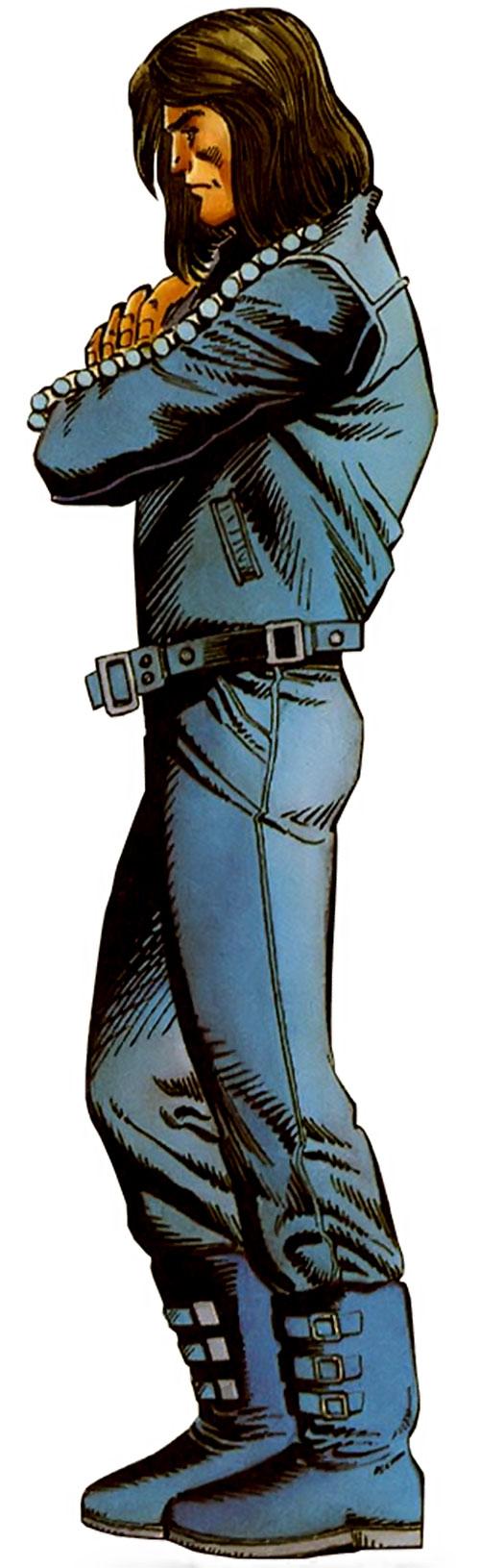 Gilad Anni Padda the Eternal Warrior (Original 1990s Valiant comics) crossed arms side view