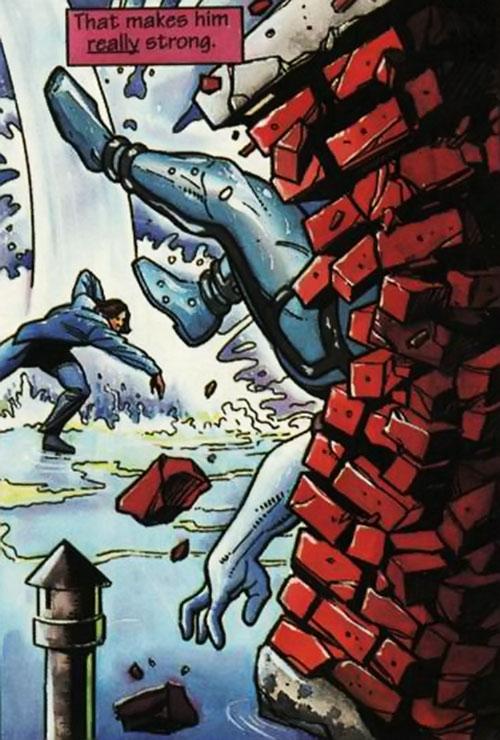 Gilad Anni Padda the Eternal Warrior (Original 1990s Valiant comics) super-strength