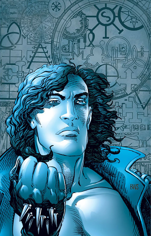 Gilad Anni Padda the Eternal Warrior (Original 1990s Valiant comics) portrait by Barry Windsor-Smith