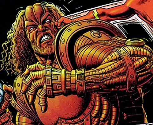 Girder (DC Comics) vs. the Flash