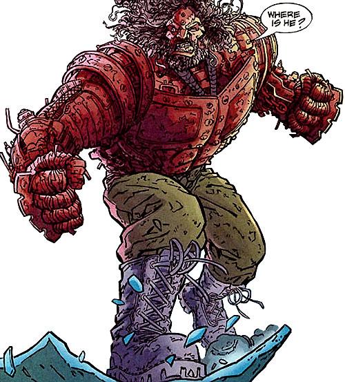The Terminator & The Tiny Titan [Deathstroke] Girder-DC-Comics-Flash